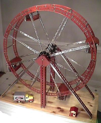 The Classic Period Erector Ferris Wheel Girders Gears